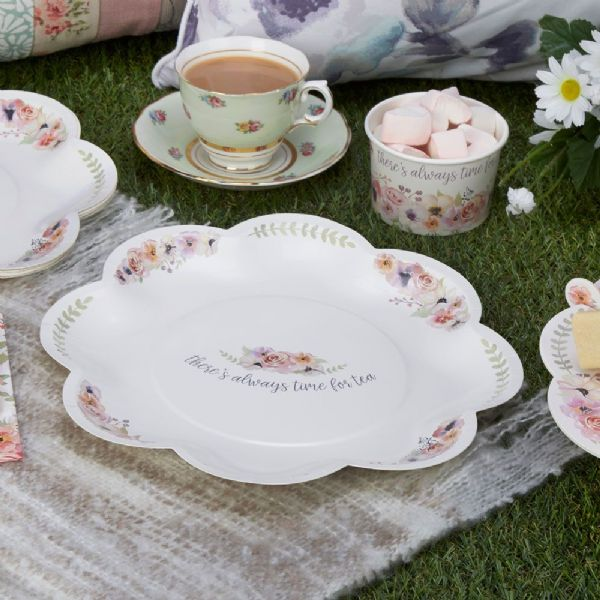 Time For Tea Paper Plates (8)